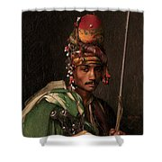 Bashi-bazouk Shower Curtain