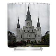 Basilica 2 Shower Curtain