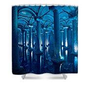 Basilica Cistern - Istanbul - Turkey Shower Curtain