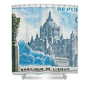 Basilica Lisieux Shower Curtain