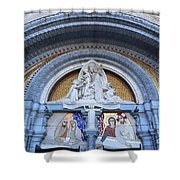 Basilica Of Our Lady Of Lourdes Shower Curtain
