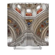 Basilica Of St. Peter In Salzburg Shower Curtain