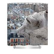 Basilica Of The Sacre Cour Shower Curtain