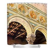 Basilica - Ravenna Italy Shower Curtain by Jon Berghoff