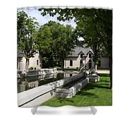 Basin In The Castle Yard Shower Curtain