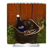Basket Of Goodies Shower Curtain