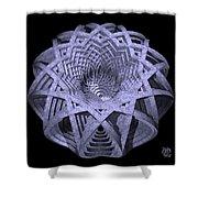 Basket Of Hyperbolae 01 Shower Curtain