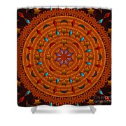 Basket Weaving 2012 Shower Curtain