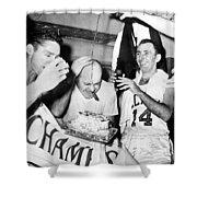 Basketball Champion Celtics Shower Curtain