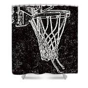 Basketball Years Shower Curtain by Karol Livote
