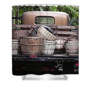 Baskets Of Feed Shower Curtain