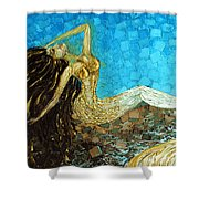 Basking Shower Curtain