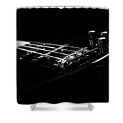 Bass On Black Shower Curtain