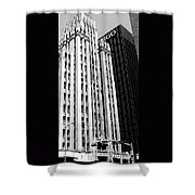 Bassett Tower By Henry C Trost Shower Curtain