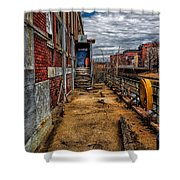 Bates Mill Office Canal Street Shower Curtain