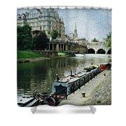 Bath Canal Shower Curtain