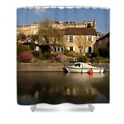Bath Canalside Shower Curtain