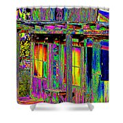 Bath House Pop Art Shower Curtain
