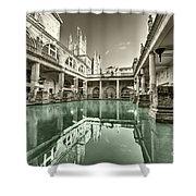 Bath Of Bath  Shower Curtain