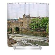 Bath On River Avon 8482 Shower Curtain