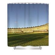 Bath Royal Crescent  Shower Curtain