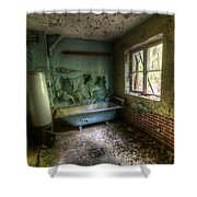 Bath With A View Shower Curtain