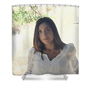 Bathed In Sunshine Shower Curtain