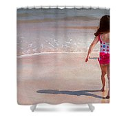 Bathing Beauty Two Shower Curtain