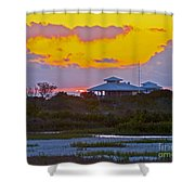 Bathouse Sunset Shower Curtain