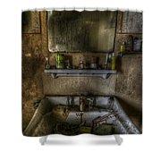 Bathroom Sink Shower Curtain