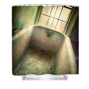 Bathtub In Abandoned House Shower Curtain