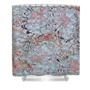 Batik-marble Shower Curtain