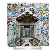 Batllo Balconies Shower Curtain