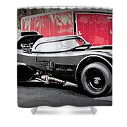 Batmobile Shower Curtain