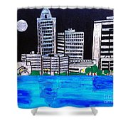Baton Rouge La  Shower Curtain
