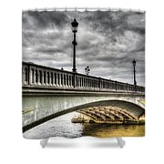 Battersea Bridge London Shower Curtain