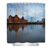 Battersea Power Plant. Shower Curtain