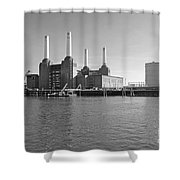 Battersea Power Station Shower Curtain