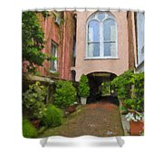 Battery Carriage House Inn Alley Shower Curtain