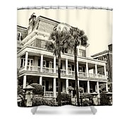 Battery Carriage House Inn Shower Curtain