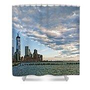 Battery Park City 2013 Shower Curtain
