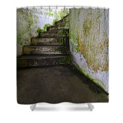 Battery Russell Oregon 3 Shower Curtain