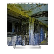 Battery Russell Oregon 4 Shower Curtain