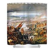 Battle Of Avay Shower Curtain