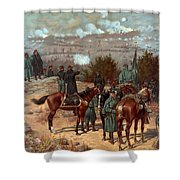 Battle Of Chattanooga Shower Curtain by American School