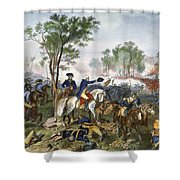 Battle Of Eutaw Springs Shower Curtain