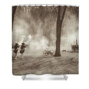 Battle Of Guilford Court House Shower Curtain