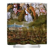 Battle Of Lepanto Shower Curtain
