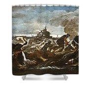 Battle Of Saint-quentin Shower Curtain