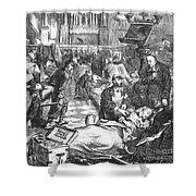Battle Of Sedan, 1870 Shower Curtain